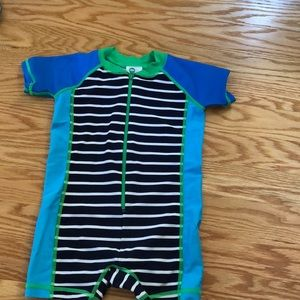 Hanna Anderson one piece boys bathing suit
